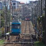 【Tokyo Train Story】霞みの向こう(東急世田谷線)