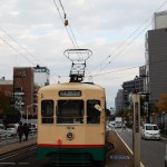 市内電車、富山ライトレールという2つの路面電車が走る富山市内 秋の北陸旅行 その12