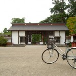 レンタサイクルで平泉の毛越寺へ 岩手・三陸フリーきっぷの旅 その12