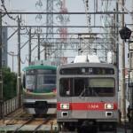 【Tokyo Train Story】新旧揃い踏み(東急多摩川線)