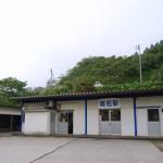 この旅4つ目のトンネル駅、筒石駅に降り立つ 群馬新潟長野旅行 その14