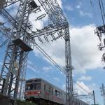 【Tokyo Train Story】変電施設を見上げて(東急多摩川線)