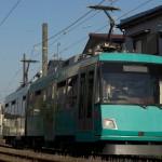 【Tokyo Train Story】信号待ちをする東急世田谷線