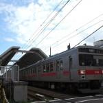 【Tokyo Train Story】鵜の木駅を出る東急多摩川線