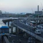 【Tokyo Train Story】高速道路との並走(東京モノレール)