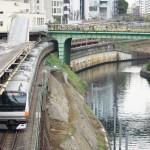 【Tokyo Train Story】神田川沿いにある御茶ノ水駅(中央線)
