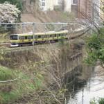【Tokyo Train Story】神田川沿いの桜(総武線)