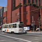 西4丁目電停付近で札幌市電を撮影する ぐるっと道央の旅 その3