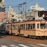 元宇品口から広島駅まで路面電車の広島電鉄に乗車する 広島尾道満喫の旅 その13