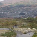 湯田中温泉付近で長野電鉄長野線の撮影をしてみた 紅葉の長野旅行 その6