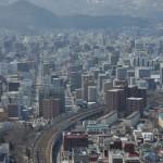 JRタワー展望室から札幌の街を見下ろす ぐるっと道央の旅 その5