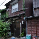 豊島区雑司が谷で見かけた昭和のような町並み