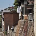 坂道と階段が連続する尾道路地裏散歩をスタートする 広島尾道満喫の旅 その16