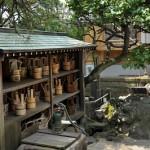 文京区本駒込2丁目 天然寺の井戸ポンプ