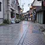 渋温泉での朝散歩と朝食 紅葉の長野旅行 その11
