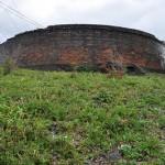 岡谷市に残る大正時代のレンガ建造物-丸山タンク 紅葉の長野旅行 その15