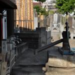 品川区北品川2丁目 法禅寺の井戸ポンプ