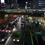 【Tokyo Train Story】夜の飯田橋駅前