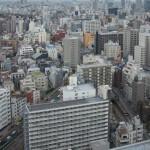 【Tokyo Train Story】文京シビックセンター展望ラウンジから地下鉄丸ノ内線を見下ろす