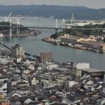 千光寺のくさり山で修行した後に帆雨亭にてコーヒーブレイク 広島尾道満喫の旅 その23