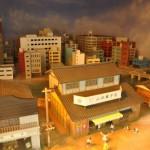 5500形車内の懐かしの東京ジオラマ 都電おもいで広場 その2