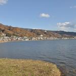 自転車での諏訪湖一周を達成した後、特急あずさで東京へ 紅葉の長野旅行 その21