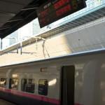 東京から新青森まで東北新幹線を乗り通す JR東日本パスで東北弾丸ツアー その1