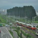 八戸線のキハ40に乗車する JR東日本パスで東北弾丸ツアー その3