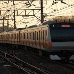 大晦日の早朝、中央本線で勝沼ぶどう郷駅へ 冬の青春18きっぷで行く長野への旅 その1
