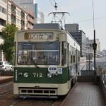 広島の地で京都と大阪の車両に出会う 広島尾道満喫の旅 その32