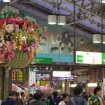 【Tokyo Train Story】上野駅中央改札口の大熊手