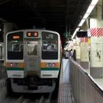 【Tokyo Train Story】上野駅地平ホームの211系電車