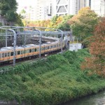 【Tokyo Train Story】お茶の水橋からの秋景色(中央線)