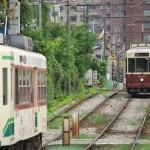 【Tokyo Train Story】レトロ車両とのすれ違い(都電荒川線)