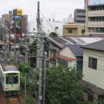 【Tokyo Train Story】町屋駅前の風景(都電荒川線)