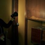 千駄木の旧安田邸に残る松坂屋印のツンドラ冷蔵庫 春の谷中フォトウォーク2013 その5