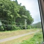山中を走る山田線で盛岡から宮古へ 夏の青春18きっぷの旅2011 東北編 その2