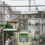 【Tokyo Train Story】曇天下の東京スカイツリー(都電荒川線)