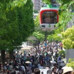 【Tokyo Train Story】たくさんのお客さんの頭上を走る上野動物園モノレール