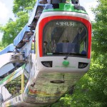 【Tokyo Train Story】新緑の中を走る上野動物園モノレール