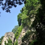 山寺の五大堂から仙山線を俯瞰する 夏の青春18きっぷの旅2011 東北編 その24