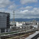 京都駅の駅ビルをたっぷりと探検する 夏の京都旅行2012 その2
