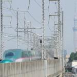 【Tokyo Train Story】東京スカイツリーに向かって(東北新幹線)
