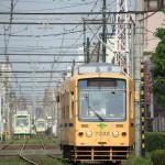 【Tokyo Train Story】一度に3両(都電荒川線)