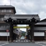 西本願寺から路地裏を通って東本願寺へ 夏の京都旅行2012 その5