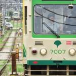 【Tokyo Train Story】長い直線区間にて(都電荒川線)