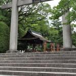 広くて静かな豊国神社を参拝する 夏の京都旅行2012 その7