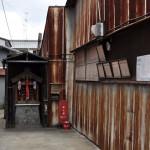 京都の路地裏に残る井戸ポンプ 夏の京都旅行2012 その8