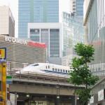 【Tokyo Train Story】有楽町のガードを通過する東海道新幹線
