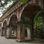 威風堂々とした南禅寺水路閣を見学する 夏の京都旅行2012 その13
